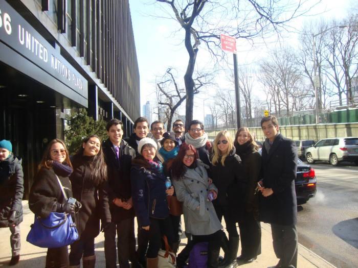En la Misión Permanentes ante Naciones Unidas de Uruguay