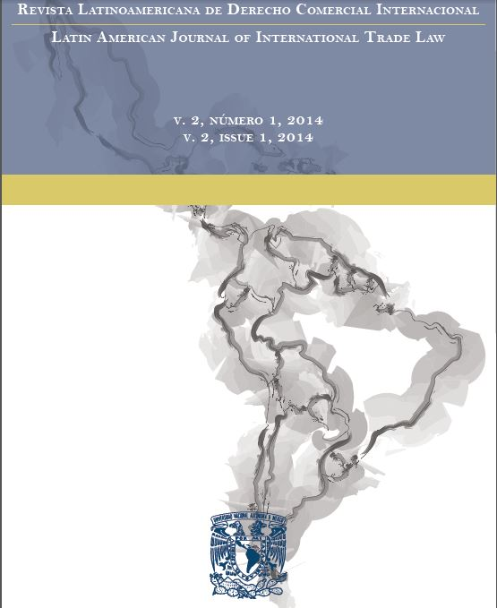 LATAM Journal of Intl Trade Law