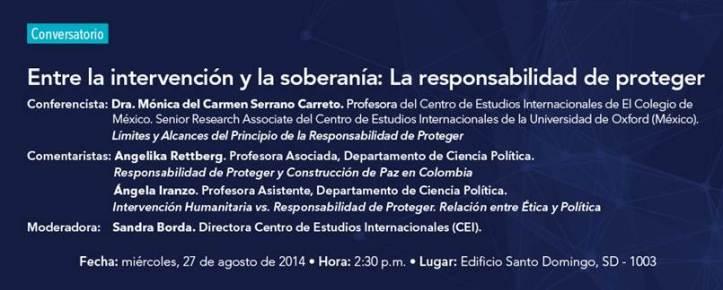 Conferencistas - Banner Andes R2P